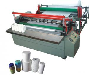 JY-F1800  nonwoven  drilling & re- rolling & cutting machine